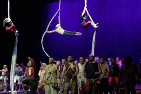 'Un grito de libertad', teatro para saltar los barrotes