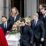 Ari Behn: la despedida de Marta Luisa de Noruega