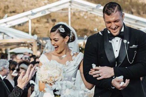 Tim Tebow se casa con la modelo Demi-Leigh Nel-Peters en Sudáfrica
