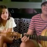 Carlos Vives y su hija Elena les regalaron a sus fans un tierno momento musical