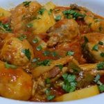 COCINA: con Gachelin-Fricase de pollo