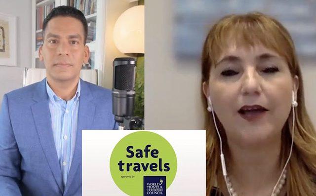 TURISMO:Presidenta del Consejo Mundial de Turismo, en diálogo con Cala