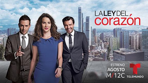 """""""LA LEY DEL CORAZON"""" ESTRENO EN EL LINE-UP DIURNO DE TELEMUNDO"""