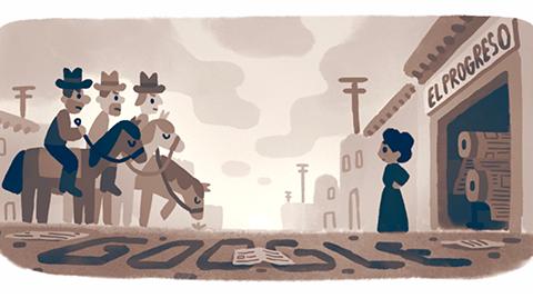 Google celebra con un doodle a la periodista, educadora, activista y enfermera Jovita Idár