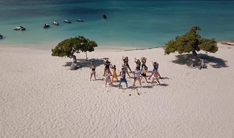 Los bailarines de Aruba muestran su hermosa isla … ¿bailando?